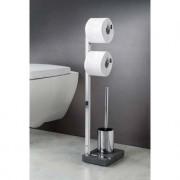 blomus® Blomus Toilettenbutler WC-Butler Menoto, Edelstahl poliert, Polystone