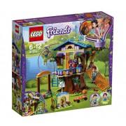 Set de constructie LEGO Friends Casuta din copac a Miei