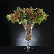 Aranjament floral ETERNITY BOWL RED BERRIES