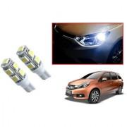 Auto Addict Car T10 9 SMD Headlight LED Bulb for Headlights Parking Light Number Plate Light Indicator Light For Honda Mobilio