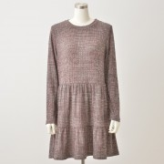 Pixie Heart ティアードカットソーチュニック【QVC】40代・50代レディースファッション