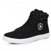 Zapatos Casuales Botín Zapatillas Hombre E-thinker - Negro