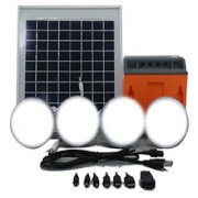 Barefoot Power Connect 600 LED Home lights Mobile Charging Solar Lighting System