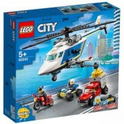 Конструктор Лего Сити - Полицейско преследване с хеликоптер, LEGO City Police 60243