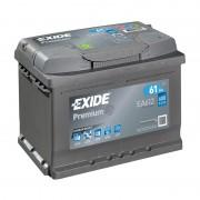 Akumulator za automobil Exide Premium 61 Ah D+ EA612 ( D59 )
