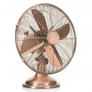 Glossy copper VE5970 table fan