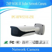 Free Shipping DAHUA Security IP Camera 2MP WDR IR Bullet Network Camera with POE without Logo IPC-HFW5231E-Z5E
