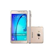 Smartphone Samsung Galaxy On 7 Dual Chip Android 5.1 Tela 5.5 16GB 4G Câmera 13MP - Dourado