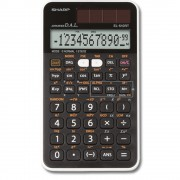 Calculator stiintific, 12 digits, 273 functiuni, 144x75x10 mm, dual power, SHARP EL-510RT - negru