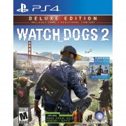 Watch Dogs 2: Deluxe Edition Ps4