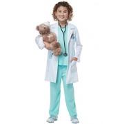 California Costumes Surgeon, Boy, Girl, Medical, Nurse The Good Doctor Child Costume, Green/White, Large
