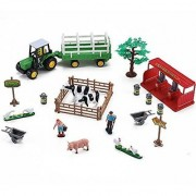 Farming Fun Playset with Tractor (Dairy)