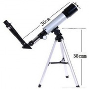 ASTRONOMICAL LAND SKY TELESCOPE 90X Refractor Telescope Kit With Tripod Optical Glass Lens And Metal Tube