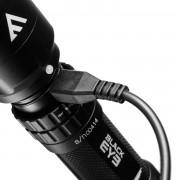 latarka USB Black EYE Mactronic THH0041 420lm - zestaw, wyprzedaż