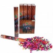 Merkloos Confetti kanon kleuren 40 cm