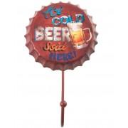 Ice Cold Beer Kapselkork Krok 10 cm