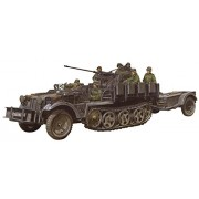 Dragon Models Sd.Kfz.10/4 Fur 2cm Fla K 30, 1940 With Ammo Trailer (1/35 Scale)