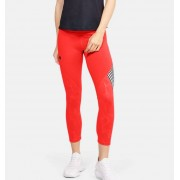 Under Armour Women's UA RUSH™ Embossed Shine Graphic Crop Red XL