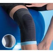 Thuasne GenuAction Térdrögzítő anatómiailag formázott szövet komfortzónával a térdkalács körül és a térd alatt