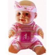 Baby born- Papusa interactiva fetita care vorbeste si canta in limba romana varsta 3 ani+ multicolor