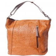 "Florence Leather Market Borsa a spalla ""LISA"" in pelle stampata (3016s)"