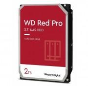 Hard Disk Drive Western Digital RED PRO 3.5'' HDD 2TB 7.2KRPM SATA III 6Gb/s 64MB | WD2002FFSX - 2TB