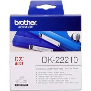 Brother DK-22210 Etiquetas Cinta continua, 29 mm x 30,48 m blanco