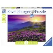 Ravensburger Pussel - Tidig morgon i bergen 1000 bitar Nature Edition
