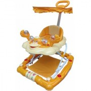 Oh Baby Baby 7 In 1 Function Duck Shape Musical Yellow Color Walker For Your Kids SE-W-17