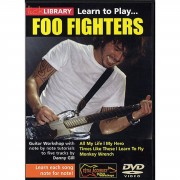 Roadrock International Lick library - Foo Fighters Learn to play (Guitar), DVD