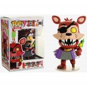 Funko Pop Rockstar Foxy De Five Nights At Freddy's Pizza
