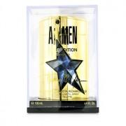 A*Men Gold Edition Eau De Toilette Refillable Metal Spray 100ml/3.4oz A*Men Gold Edition Тоалетна Вода Презареждаем Метален Спрей