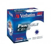 CD-R Azo Printable 52X 700MB, Jewel Case 10, pret pe bucata