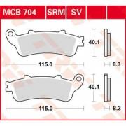 mx crossdelar bromsar Bromsbelägg till MC - HONDA FSC 600 SILVERWING - HONDA FSC 600 SILVERWING 2002 - TRW - Ceramic Standard
