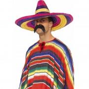 Smiffys Mexicaanse hoed gekleurd