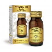 Dr. Giorgini Vitamin 100 junior 100 pastiglie Masticabili 50 gr Dr. Giorgini Multivitaminico per Bambini