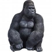 Kare Decofiguur Monkey Gorilla Side XL Black