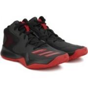 ADIDAS CRAZY TEAM II Basketball Shoes For Men(Black)