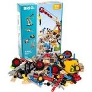 BRIO 34588 Grundsats Bygglek 211 Delar 1 set