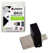 Kingston 64GB DT MicroDuo USB 3.0 DTDUO/64GB metal-black