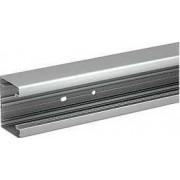 Optiline 45 - canal de cabluri instalare - 75x55 mm - alum. - natural - 2000 mm - Sisteme de canale optiline 45 - 75x55 mm - Optiline 45 - ISM10150 - Schneider Electric