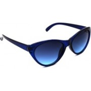 Redleaf Cat-eye Sunglasses(Blue)