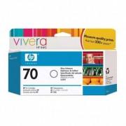 HP Cartucho de tinta de mejora de brillo DesignJet 70 de 130 ml C9459A