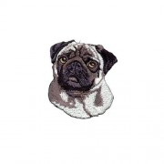 Brodyrmärke Mops/Pug