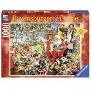 Пъзел от 1000 части - Santa's Final Preparations, Ravensburger, 702171