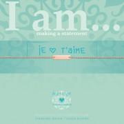 Heart to get IAM414B-JTM-R je t'aime rose verguld armband