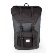 Herschel Little America Backpack #10014 black gridlock/black rubber