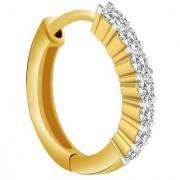 PeenZone 18k Gold Plated Saniya Nose Ring (Bali) For Women Girls