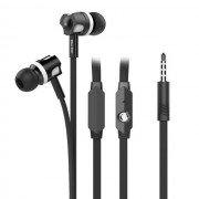 Универсални слушалки (с микрофон) 3.5mm - модел JM26 (черно)