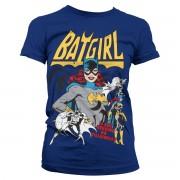 Batgirl - Hero Or Villain Girly Tee